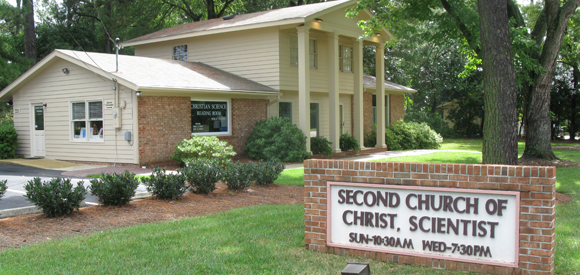 Christian Science Church in Raleigh, North Carolina
